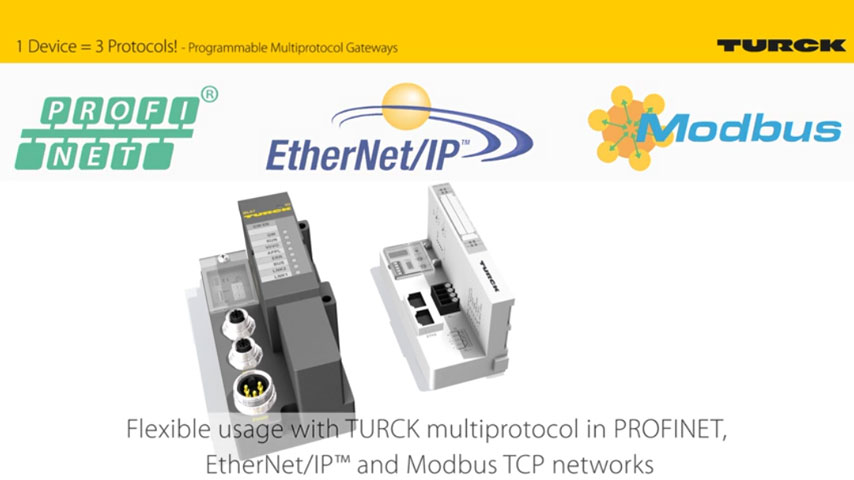 Programmable Ethernet Gateways in IP20 and IP67